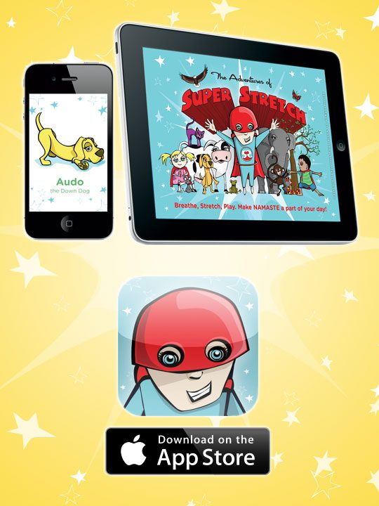 Super Stretch is a top Kids Yoga iTunes App