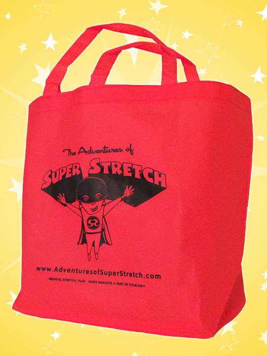 Kids Yoga Super Stretch Store Bag Tote