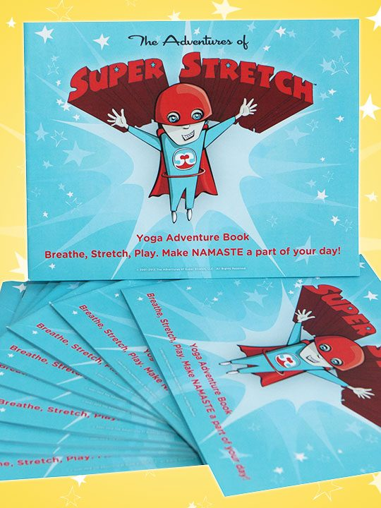 Adventures of Super Stretch Book