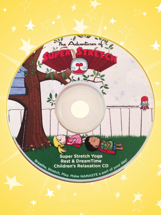 Children's Meditation and Rest CD