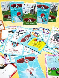 Kids Yoga Flash Cards