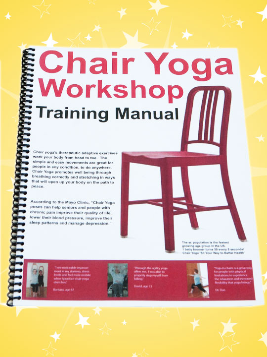 Chair Yoga Workshop Training Manual