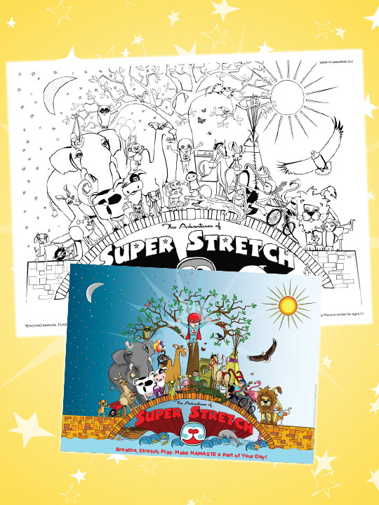 Adventures of Super Stretch Poster 60 Characters