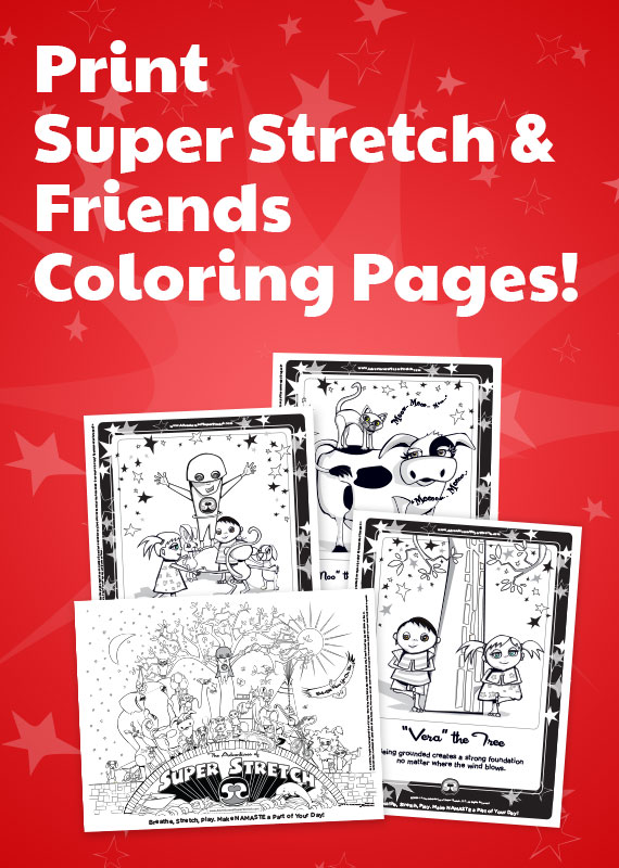 Print Super Stretch Pages to Color