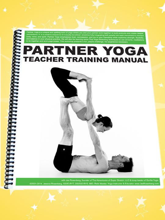 Partner Yoga Teacher Training Manual Super Stretch